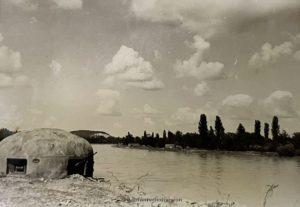 Ein Bunker in der Ukraine 1941