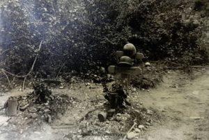 Soldatengräber in der 1941 in der Ukraine während dem Unternehmen Barbarossa
