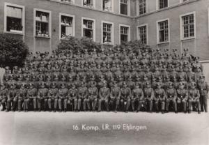16. Kompanie IR 119 Esslingen