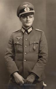 Porträt Stabsveterinär Horst Eisenmenger