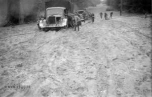 Russische Rollbahn 1941