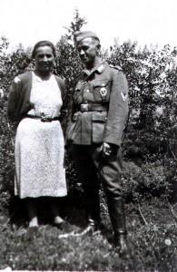 Michel Korn mit Ehefrau Resi
