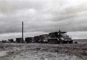 1941 Kolonne steckt im Sand