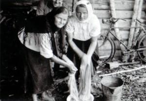1941 grosse Wäsche