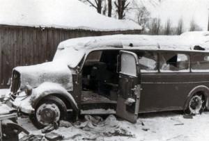 19411225 Nedelnoje nach Rückeroberung - Kartenstellenbus
