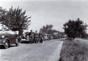 1939 Mittagsrast bei Schwetzingen