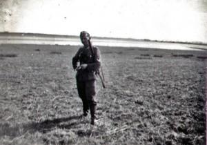 Auf Jagd in Frankreich am 24. März 1941