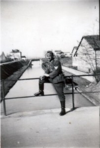 Kanal in Frankreich am 08. März 1941