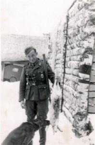 Ein Schneehase - Russland am 8.1 Dezember 1942 bei Ssawinki