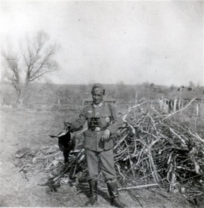 Erste Birkhuhn-Jagd am 24. April 1942