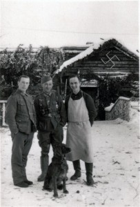 Im Soldatenheim zu Besuch am 22.1.43 Carnovka