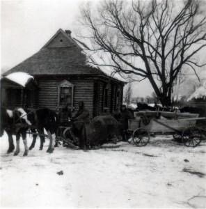 Kriegswinter in Russland 1941 / 1942 als Andenken an -52 Grad Kälte