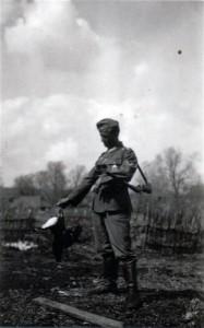 Mein erster Birkhahn - Russland am 24. April 1942 bei Charinki