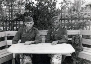 Mit Erwin im Mai 1943