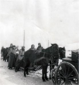 Zur Erinnerung an die große Kälte in Russland 1941 / 1942 im Februar