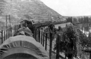 September 1939 - Eisenbahntransport durchs Neckartal