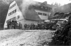 Divisionsstabsquartier im Schulungsheim Badenweiler
