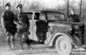 VL Maj Voigt - Lt Berger vom I. Bataillon / IR 470