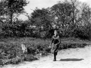 Hptm Petzold, IR 460 bei Idstein am 30.9.1939