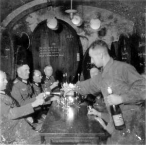 RegStab 470 bei der Weinprobe in der Krone in Auggen