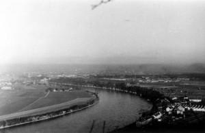 Blick vom Grenzacher Horn auf Basel
