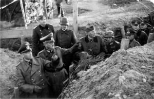 Die Generale v.Brauchitsch, Schmidt und Dollmann