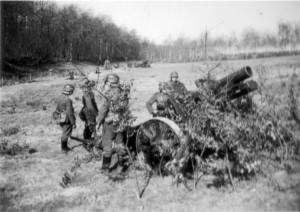 0332 Divisionsübung März '41 - schweres Infanteriegeschütz_1