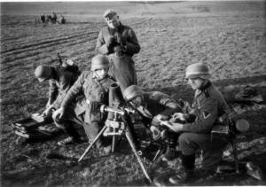 0334 Divisionsübung März '41 - Mörser_1