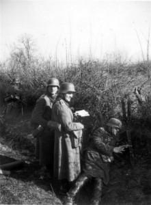 0336 Divisionsübung März '41 - Hptm Müller auf dem GefStd_1
