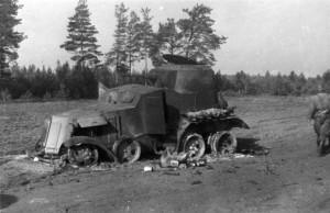 0064 abgeschossener Panzer bei Romanischtsche_1