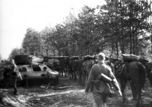 0179 am 6. August 41 durch 7. AR 260 abgeschossener Panzer_1