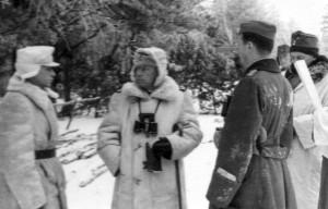 0196 General Hahm links mit Generaloberst Heinrici am Stützpunkt Einsiedel im Januar 1943_1