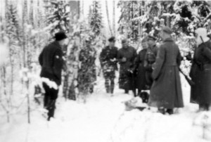 0198 General Hahm mit Jagdgesellschaft Januar 1943_1