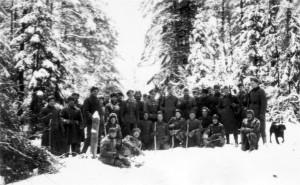 0201 General Hahm mit Jagdgesellschaft Januar 1943_1