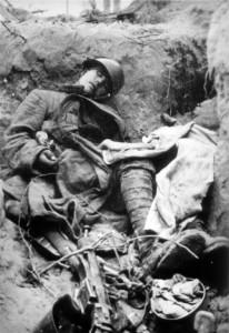 0261 Stosstrupp der 11. GR 480 unter Olt Raff am 11.05.1943 hat nördlich Kirow 900 Meter feindlichen Graben aufgerollt_1