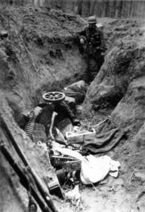0262 Stosstrupp der 11. GR 480 unter Olt Raff am 11.05.1943 hat nördlich Kirow 900 Meter feindlichen Graben aufgerollt_1