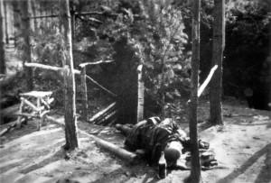 0266 Stosstrupp der 11. GR 480 unter Olt Raff am 11.05.1943 hat nördlich Kirow 900 Meter feindlichen Graben aufgerollt_1