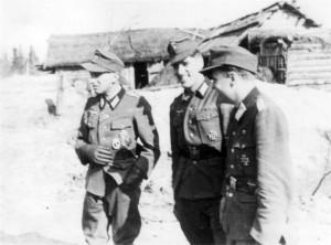 0296 von links Lt. Kraft - Dannecker - Neubert vom IR 480_1