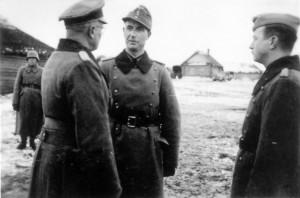 0343 am 07.12.1943 von links General Schlüter - Major Strohm -OTL von Tresckow_1