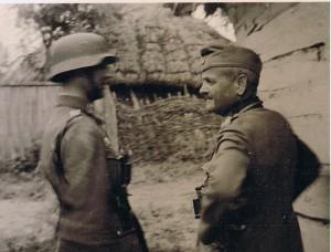 Hauptmann Strohm, Generalleutnant Schmidt