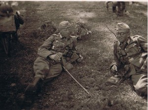 Oberleutnant Raishuber, Leutnant Waible