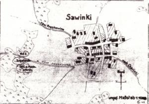 Ortsplan Ssawinki