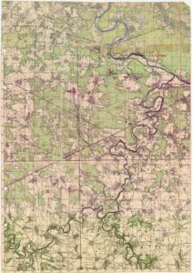 Geheimkarte Ressa-Ugra-Stellung